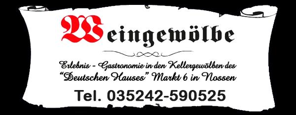 Banner Weingewölbe Nossen